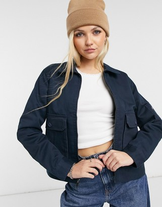 Dickies Utility Eisenhower jacket in navy