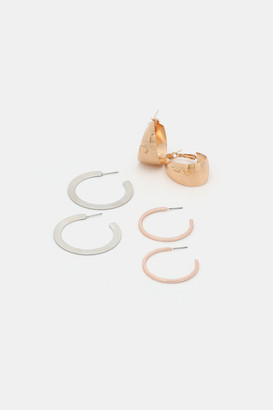 Ardene Pack of Hoop Earrings