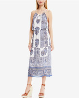 Vince Camuto TWO by Printed Halter Maxi Dress