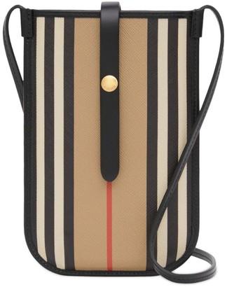 Burberry Icon Stripe Phone Case Lanyard