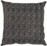 Barneys New York Herringbone Calf Hair & Suede Pillow