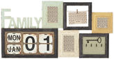 Pier 1 Imports Family Calendar Collage Wall Photo Frame