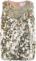 Gianluca Capannolo embellished tank top - women - Polyester - 40