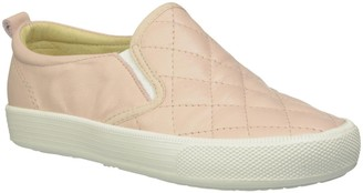 Old Soles Girls' Quilted Hoff (Toddler/Youth) - Powder Pink - 24 EU/8 US