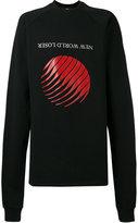 Hood by Air oversized printed sweatshirt - men - Cotton - S