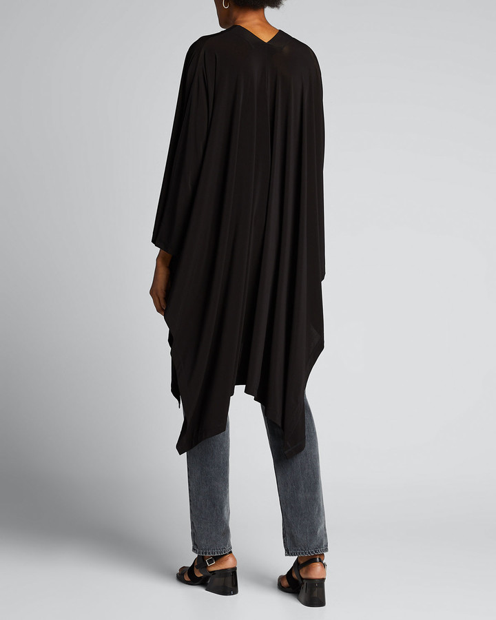 Thumbnail for your product : Issey Miyake Draped Jersey Handkerchief Cardigan
