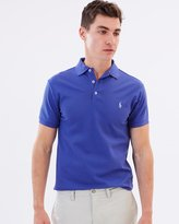 Polo Ralph Lauren Slim Fit Stretch Cotton Mesh Polo Shirt
