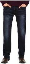 Buffalo David Bitton Six Straight Leg Jeans in Authentic and Deep Indigo (Authentic/Deep Indigo) Men's Jeans