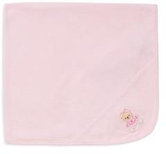 Little Me Infant Girls' Bear Receiving Blanket - Baby