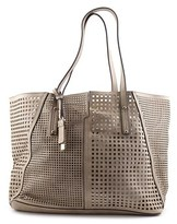 MG Collection Kamila Laser Cutout Synthetic Shoulder Bag.