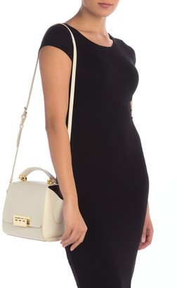 Zac Posen Eartha Top Handle Leather Crossbody Bag