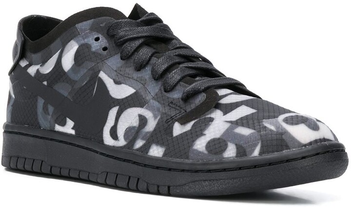 Thumbnail for your product : Nike x Dunk monograph sneakers