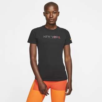 Nike Women's Running T-Shirt Dri-FIT NYC