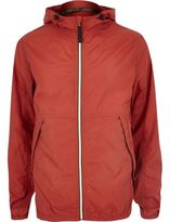 River Island MensRed Jack & Jones Vintage nylon jacket