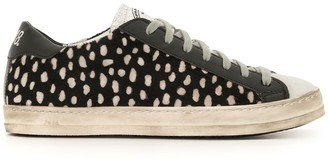 P448 Dotted Low-Top Sneakers