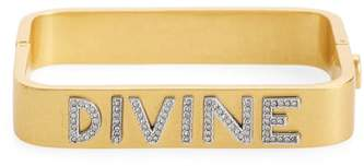 Tory Burch Divine Message Rectangular Bracelet