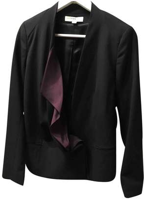 Anne Valerie Hash Black Synthetic Jackets