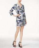 Kensie Printed Kimono Dress