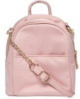 Dorothy Perkins Womens Pink Satin Mini Cross Body Bag- Pink