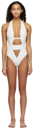 Agent Provocateur White Anja One-Piece Swimsuit