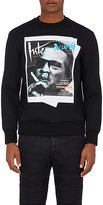 "Neil Barrett Men's ""Jay De Niro"" Neoprene Sweatshirt"