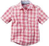 Carter's Baby Boy Plaid Button-Down Shirt