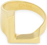 Chloé Alphabet L ring