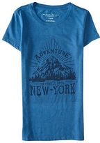 Aeropostale Womens New York Adventure Graphic T Shirt