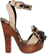 Dolce & Gabbana 150mm Raffia Chiffon