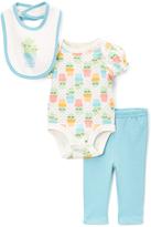 Blue & Cream Cactus Bodysuit & Pants Set - Infant