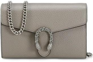 Gucci Mini Dionysus Leather Chain Bag