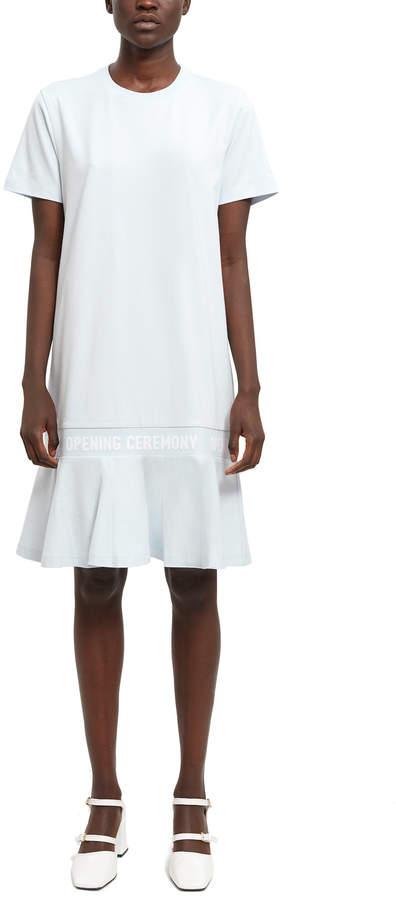 efad4414625b Shirt Dress Elastic Waist - ShopStyle