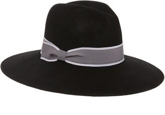 Halogen Wool Felt Panama Hat