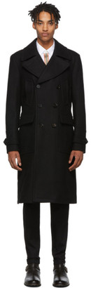 Belstaff Black Mildford Coat