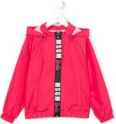 MSGM zipped jacket - kids - Polyester - 4 yrs