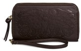 Mossimo Women's Zip Around Cell Phone Wallet with Wristlet