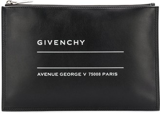 Givenchy Medium Printed Clutch Bag