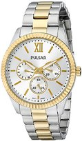 Pulsar Women's PP6142 Business Collection Analog Display Japanese Quartz Silver Watch