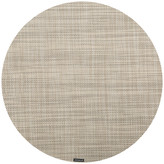 Chilewich Mini Basketweave Round Placemat - Linen