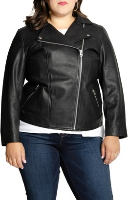 All 67 Long Lifetime Leather Moto Jacket