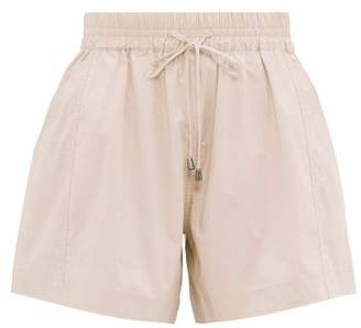 Apiece Apart Trail A-line Cotton Shorts - Womens - Light Pink