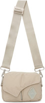A-Cold-Wall* A Cold Wall* Off-White Padded Envelope Crossbody Bag