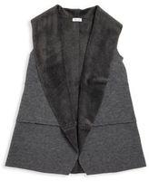 Splendid Toddler's, Little Girl's & Girl's Faux Fur-Lined Vest