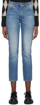 Ami Alexandre Mattiussi Blue Classic Fit 5 Pockets Jeans