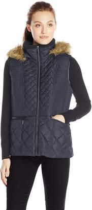 Fleet Street Ltd. Women's Quilted Down Vest