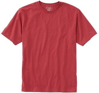 L.L. Bean Men's Carefree Unshrinkable Tee, Traditional Fit Short-Sleeve
