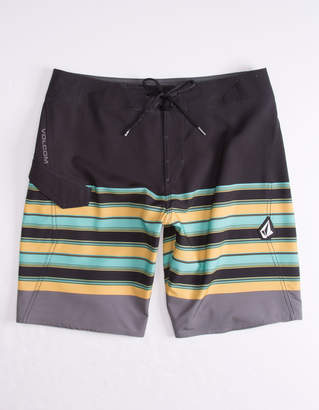 Volcom Lido Liney Black Mens Boardshorts