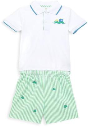 Florence Eiseman Little Boy's 2-Piece Polo & Shorts Set