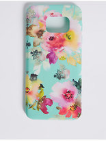 M&S Collection Samsung S7® Floral Print Phone Case