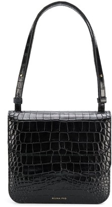 REJINA PYO Ana croc effect shoulder bag
